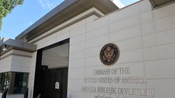 The US Embassy in Ankara on Friday issued a security alert over reports of a possible attack on American citizens and other foreigners, temporarily suspending consular services. — Courtesy photo