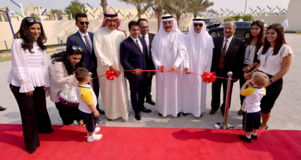 Bahrain's Labor and Social Development Minister Jameel bin Mohammed Ali Humaidan is seen opening a nursery in this file picture. — BNA photo