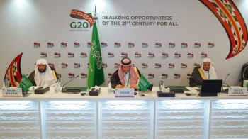 G20 ministers welcome Saudi initiative for 