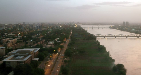 Aerial view of the capital of Sudan, Khartoum. 2018. — courtesy WFP/Abeer Etefa