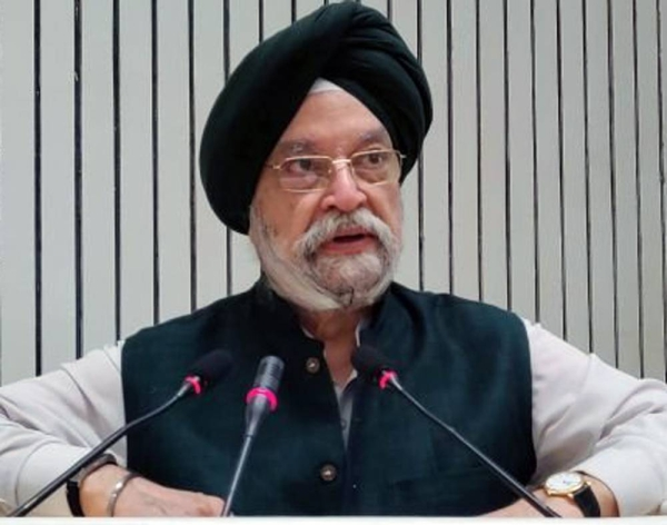Minister for Civil Aviation Hardeep Singh Puri.