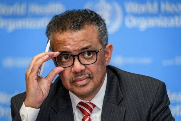 Director-General of the World Health Organization Tedros Adhanom Ghebreyesus.