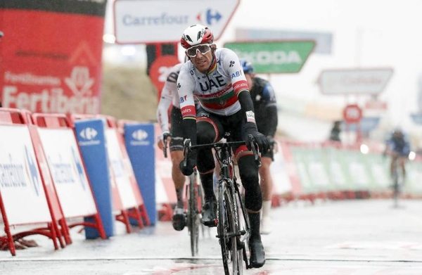 "Rui Costa took third place, 25"" behind the winner Ion Izagirre (Astana) on what has been a mountainous start to the Vuelta Espana."