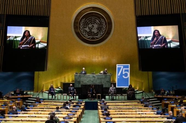 Seventy-five years after world leaders united to promote global peace and progress through cooperation, representatives from the international community stood in the UN General Assembly Hall on Monday to reaffirm their commitment to this promise. — Courtesy photo