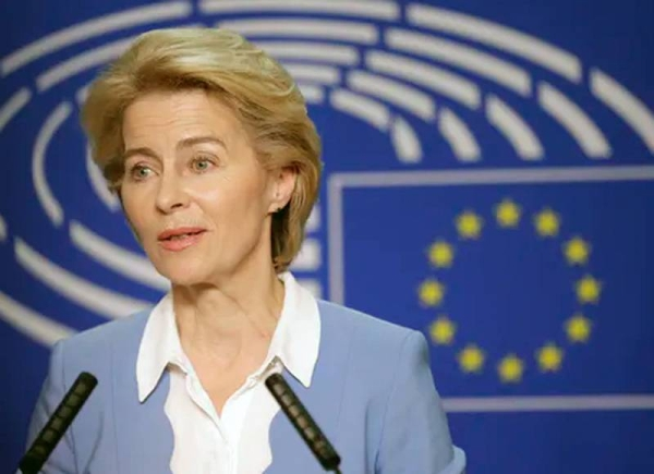 European Commission chief Ursula von der Leyen, who is to discuss COVID-19 coordination with EU leaders on Thursday, said the bloc must step up its response.