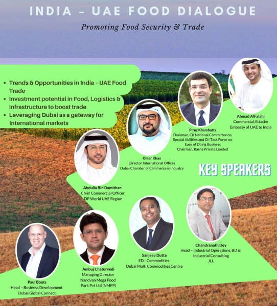 India-UAE Food Dialogue explores prospects for boosting food security cooperation