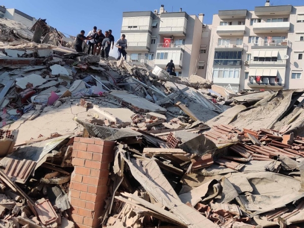 At least fourteen people have been killed in Turkey and Greece after a powerful earthquake hit the Aegean Sea on Friday afternoon. — Courtesy photo