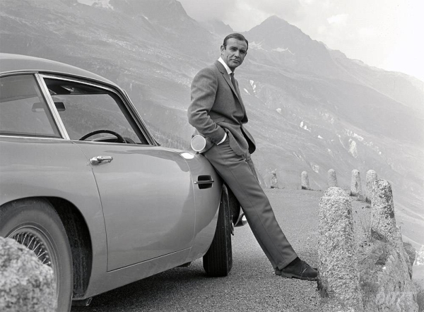 File photo of Sean Connery, the Scottish actor, in his heydays.