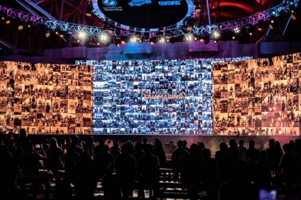 Global Village broke a new Guinness World Records title for the most videos in a music medley video during last night's Global Gig, the biggest virtual rock concert in history.