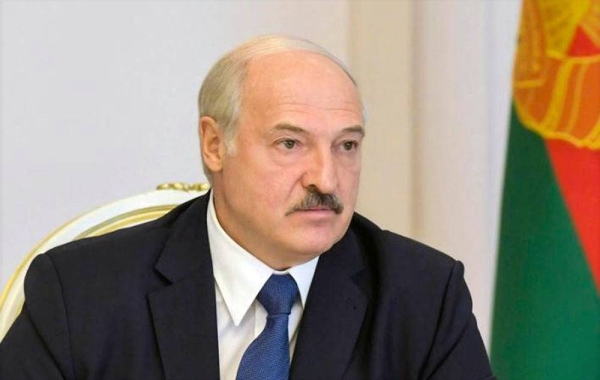 Belarusian leader Alexander Lukashenko seen in this file photo.
