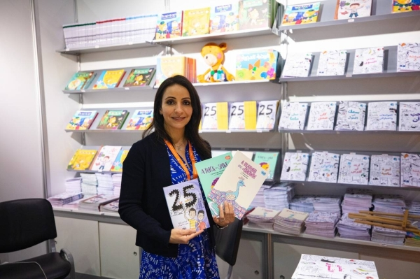 Independent publisher expresses gratitude to SIBF for kick-starting her career