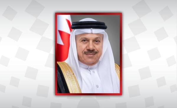 Bahrain's Minister of Foreign Affairs Abdullatif bin Rashid Al-Zayani
