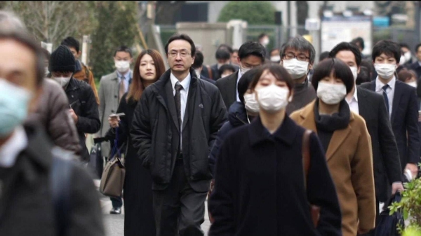 Japan confirmed more than 1,600 new coronavirus cases, a record daily high since the outbreak of the coronavirus early this year, amid signs of a resurgence in infections nationwide as the winter season approaches. — Courtesy photo