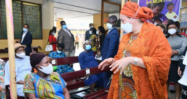 United Nations Deputy Secretary General Amina J. Mohammed during her visit to Ghana. — courtesy United Nations/Daniel Getachew