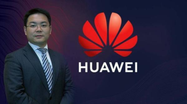 Terry He ... CEO of Huawei Tech Investment Saudi Arabia