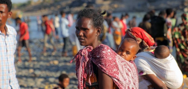 Insecurity in the Tigray region of Ethiopia is driving people into Hamdayet in Sudan. — courtesy UNHCR/Hazim Elhag