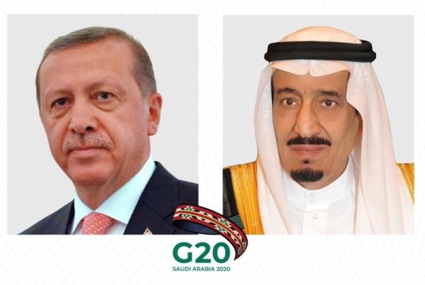 King Salman calls Turkish President Erdogan ahead of G20 summit