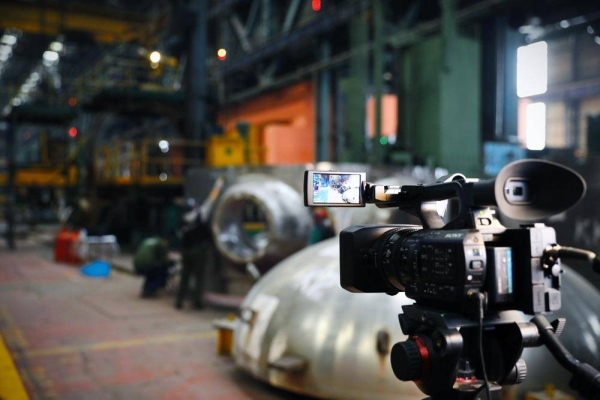 """The first 3D tour in the history of the Russian nuclear engineering took place at the site of Atommash, the Volgodonsk branch of """"AEMtechnology""""."""