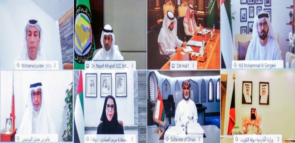 UAE chaired the 21st virtual meeting of the Gulf Cooperation Council committee tasked with following the implementation of the joint action resolutions, issued by the GCC Supreme Counci .