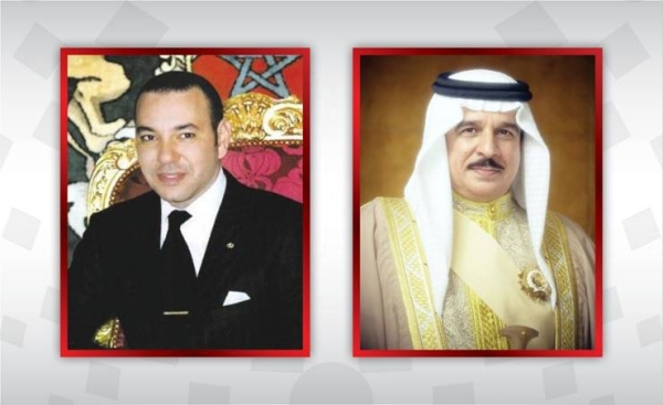 Bahrain's King Hamad bin Isa Al-Khalifa held telephone talks on Thursday with Morocco's King Mohammed VI.