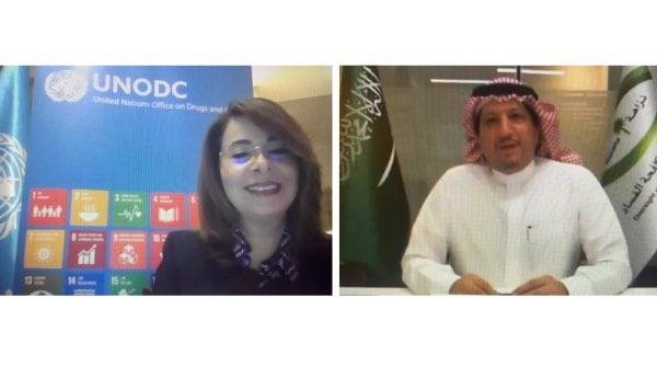 The agreement was signed on Thursday by Mazin Al-Kahmous, the president of Saudi Arabia's Oversight and Anti-Corruption Authority (Nazaha), and Dr. Ghada Waly, the executive director of the UNODC.