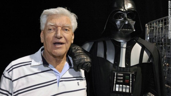 David Prowse, the British actor who played the iconic villain Darth Vader in the original Star Wars trilogy has died aged 85 after a short illness.