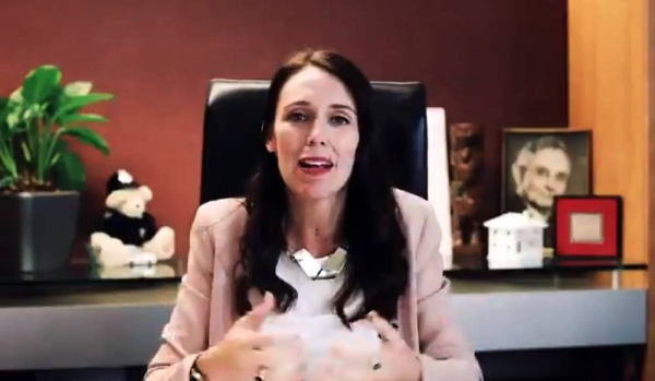 New Zealand Prime Minister Jacinda Ardern seen in this file photo.
