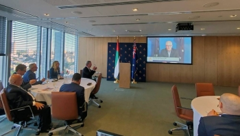Prime Minister of Australia Scott Morrison officially launches in Sydney the first-ever Australia-United Arab Emirates Business Council.