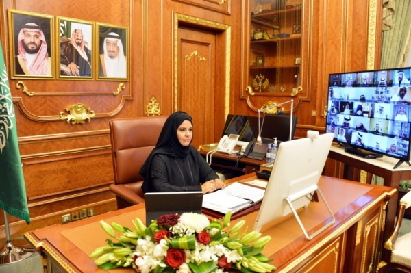Assistant President of the Shoura Council Dr. Hanan Al-Ahmadi made history on Wednesday by becoming the first Saudi woman to chair a session of the Shoura Council.