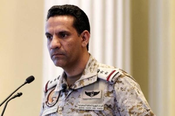 Arab coalition spokesman Col. Turki Al-Malik.