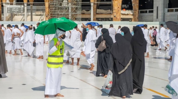 Over a million women perform Umrah and pray at Grand Mosque