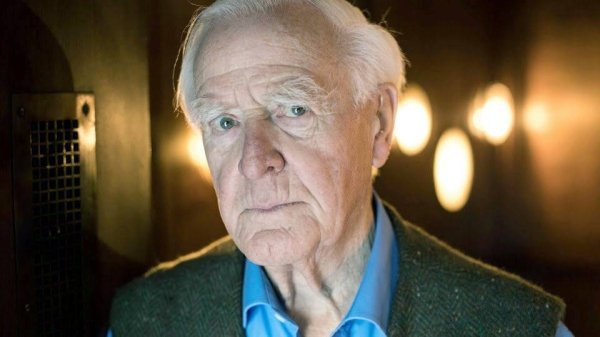 Best-selling British espionage writer David Cornwell — known to the world as John le Carré — died Saturday at 89. — courtesy Twitter