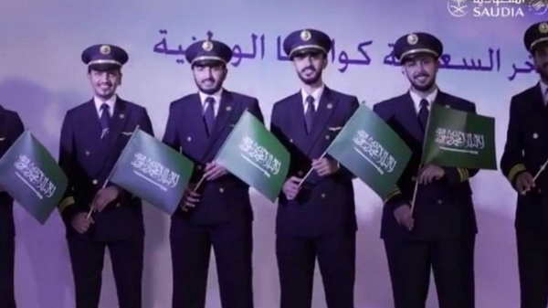 Saudia achieves 100% Saudization in co-pilot jobs