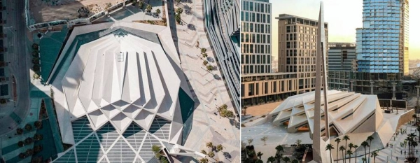 King Abdullah Financial District (KAFD) Grand Mosque in Riyadh won the International Architecture Prize, in the Religious Buildings category, for the Year 2020.