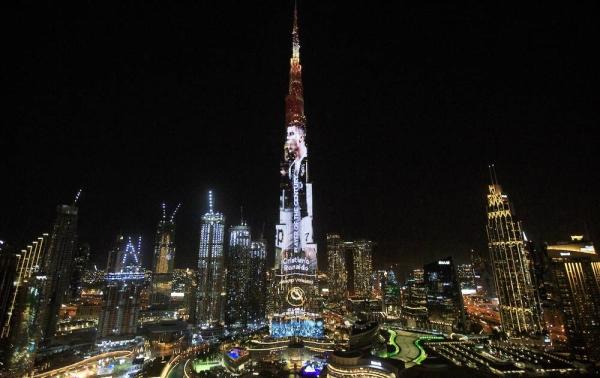 Dubai Globe Soccer Award 2020 - 12th Edition. In the pic: Sheikh Hamdan Bin Mohammed Bin Rashid Al Maktoum, Robert Lewandowski, Iker Casillas, Pique,Cristiano Ronaldo and other celebrities. — courtesy Dodicesima Edizione.