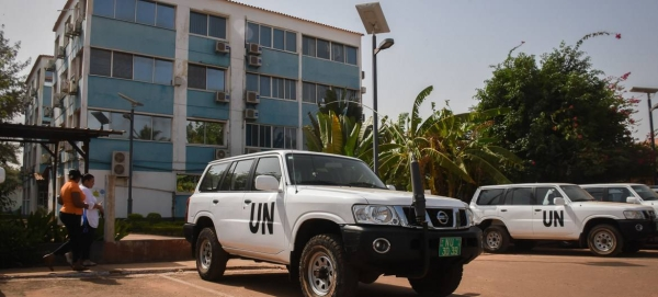 Headquarters of the United Nations Integrated Peacebuilding Office in Guinea Bissau, Uniogbis, in this file courtesy photo.