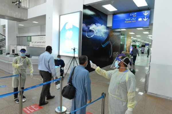 Non-Saudis arriving from the United Kingdom, South Africa, and other countries where a new variant of the virus has been detected must stay at least 14 days out of these countries before entering Saudi Arabia. — SPA photo