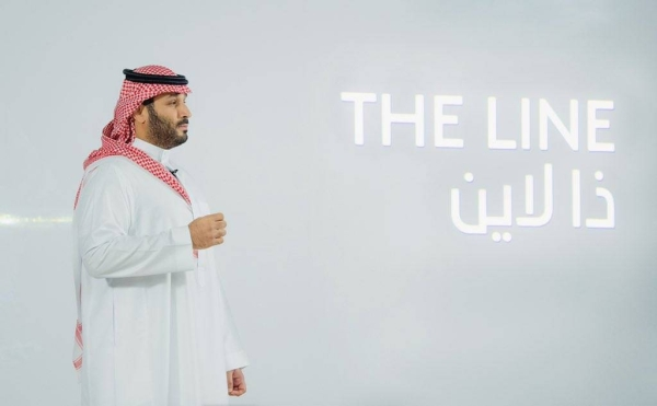 Crown Prince Muhammad Bin Salman, chairman of the NEOM Company Board of Directors, Sunday announced THE LINE, a revolution in urban living at NEOM, and a blueprint for how people and planet can co-exist in harmony. — SPA