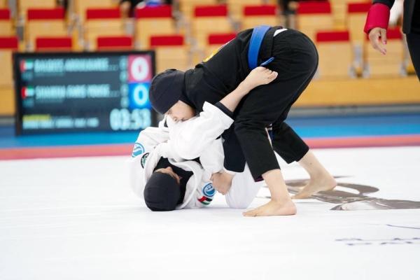 The MON Jiu-Jitsu League is the premier tournament for female jiu-jitsu fighters in the UAE.