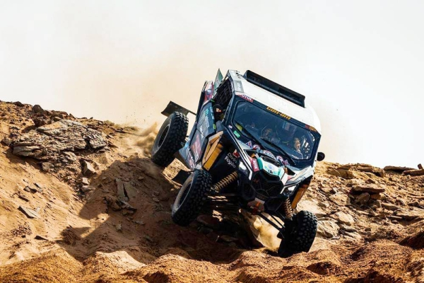 Nasser Al-Attiyah has done it again in the 375km loop between Sakaka and Neom on Monday. The Toyota driver won for the fifth time this year to bring his total of Dakar stage wins to 40.