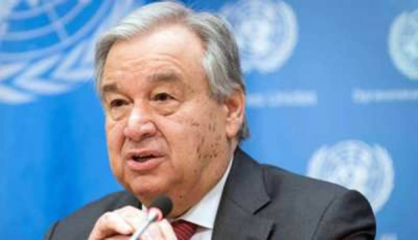 United Nations Secretary-General Antonio Guterres told the Security Council and the president of the 193-member General Assembly on Monday that he seeks a second five-year term at the helm of the world body.