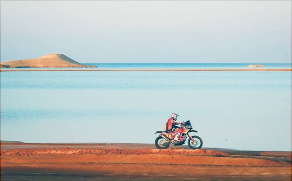 Frenchman Stéphane Peterhansel gained the ninth stage victory, which is his first this year and, in the process, also opened up a gap in the general standings.