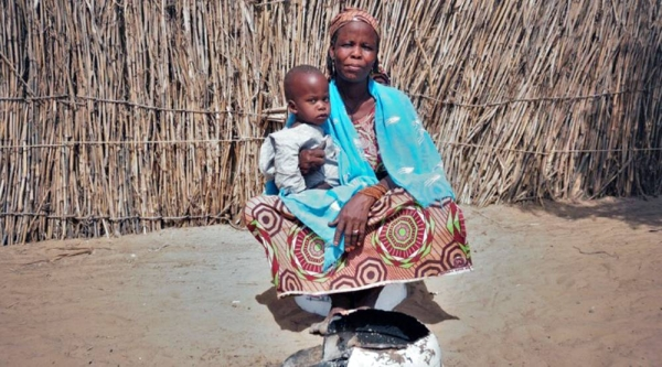 Amarcia, is one of the 1.5 million people who have been displaced in Niger by conflict in the central Sahel region. — courtesy IOM/Monica Chiriac