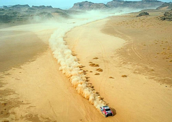 Saudi Yazeed Al-Rajhi cruised to his second stage win in the 43rd Dakar after claiming the  Wednesday's special.