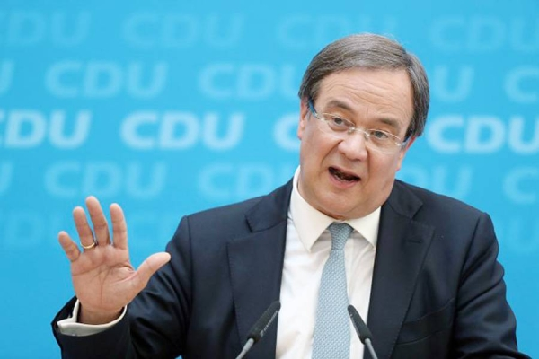Armin Laschet has been chosen as the new leader of Germany's center-right Christian Democratic Union (CDU) party.