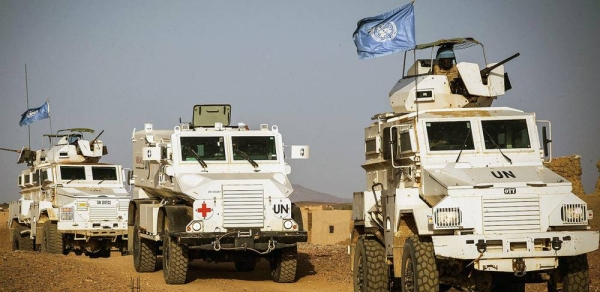 File photo of a Guinean contingent of MINUSMA which is based in Kidal in the extreme north of Mali, conducts mine action activities and also ensures the safety of the civilian population. — courtesy MINUSMA/Harandane Dicko