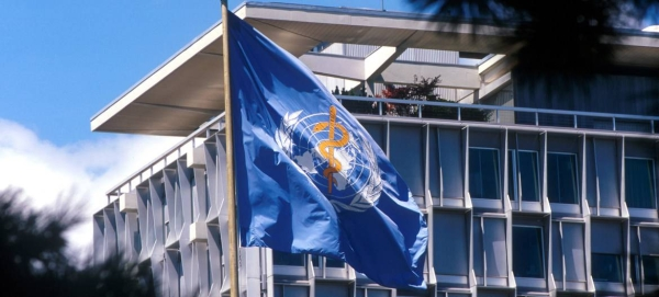 The flag of the UN World Health Organization (WHO) flies at its headquarters in Geneva, Switzerland. — Courtesy photo