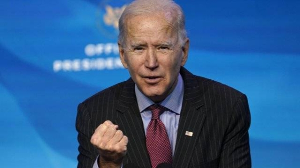 USPresident Joe Biden launched a national strategy to curb the raging coronavirus pandemic on his first full day in office on Thursday. — Courtesy photo