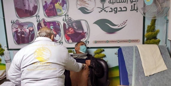 KSrelief continued providing medical services in Zaatari camp for Syrian refugees in Jordan.