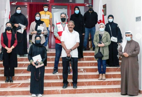 The Bahrain Red Crescent Society (BRCS) launched a program to train its young and youth volunteers entitled